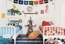 Beautiful rooms - kids / Big ideas for the little ones! Cute and colourful decorating ideas for children's bedrooms and nurseries chosen by Decorator's Notebook