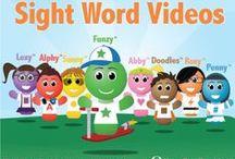 Sight Words / Sight Words, Sight Word, Sight Word Songs, Sight Word Videos, Teaching Sight Words, Vocabulary Words, Kindergarten Sight Words, Dolch Sight Words, High Frequency Words / by Have Fun Teaching
