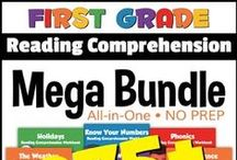 Reading Comprehension / Free printable reading comprehension worksheets for Kindergarten, 1st Grade, 2nd Grade, 3rd Grade, 4th Grade, 5th Grade, and 6th Grade reading comprehension. These comprehension worksheets and stories will help kids prepare for the reading test. PIN them to your board!