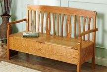 Wood Projects for the Home / Wood plans for your living room, office, bedroom and deck.