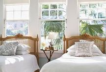 guest bedroom / Tips to make a guest bedroom comfortable & beautiful.