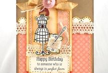 Cute As A Button / by There She Goes Clear Stamps