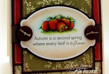 Autumn Mosaics / by There She Goes Clear Stamps