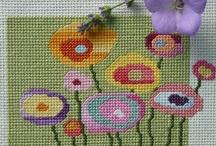 Embroidery and Xstitch / by Leticia Kazemi