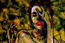 EXPRESSION  Art / Serie de obras expresionistas.