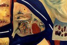 TERRA  ART / Obras abstractas realizadas por la artista Cris Acqua