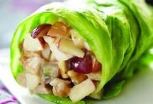 healthy snacks / by Melinda Simpson