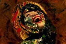 COLLAGEMANIA Art. / Obras de las artistas  CARMEN LUNA y CRIS ACQUA, creadoras del  MANIFIESTO Internacional del COLLAGE (2005) dónde exponían una premonicion,  una filosofía de vida y una manera de reciclar el alma...