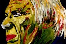 PICASSO. / ...Durante varios años siguientes seguí trabajando, documentandome... no me podía detener.  Conocía  su  rostro…sus gestos.  Tambien más de su vida… Me quedo con Pablo Picasso artista-pintor . Con su creatividad, disciplina, genio, entrega y ambición artística. Y su rostro…sus ojos, provocando a la luz, sus ángulos voluptuosos , su  boca que devoraba la vida... Maestro,  gracias por ser  inspiración. Carmen Luna