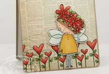 Amalia's Daisy Fairy / by There She Goes Clear Stamps