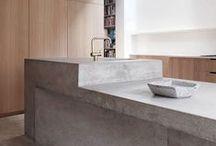 DESIGN | Kitchens / Mood board/concept board for SANCTUM