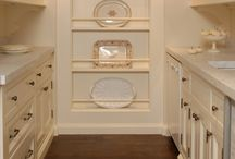butler's pantry / Classy and practical ways to incorporate a butler's pantry into your home.  / by Julie Blanner