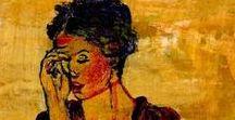OCHER Art. / Obras de arte que tiene como color preponderante el ocre.