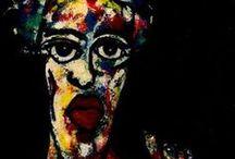 PORTRAITS  Expressionists / Rostros expresionistas en el arte.