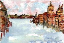 WATERCOLORS. / Watercolors