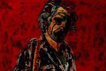 Bruce Springsteen / Retratos de arte realizados por la artista Carmen Luna