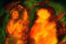 ART PHOTO CONCEPTUAL / CONCEPTUAL-mente. A veces necesito a partir de una idea o boceto, revolucionar una obra mía o parte de ella. Me impresionan las sombras, las mudanzas de formas,  las figuras delineadas en la oscuridad, los estallidos de luz que mueven y apresuran a formas y  texturas, para cubrirlas de significados. (Cris Acqua )  Fotografia. Edicion de 15 Tamaño 30x40. Firmada, numerada y con certificado de autenticidad.