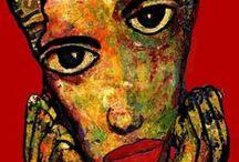 ARTFINDER Expressionists portraits / Expressionists portraits ARTfinder by Carmen Luna    https://es.artfinder.com/carmenluna