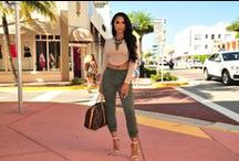 Comfy and casual.. / Casual gone ultra chic!  Find the latest fashion trends @ www.hotmiamistyles.com