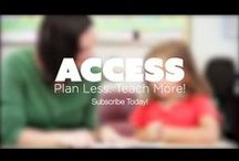 Have Fun Teaching Access / ACCESS gives you Ready-To-Use and Common Core Aligned resources for every weekday of the year. When you sign up, you will have Members-Only access to high quality teaching resources, lesson plans, worksheets, activities, songs, videos, assessments, holiday themed lessons, and Common Core materials. / by Have Fun Teaching