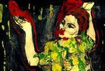 MEMORY of ART . / MEMORY of ART. Artist Cris Acqua. Painting Mixed.