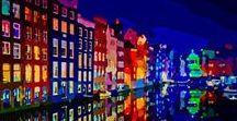 Art NIGHT / La magia de las luces y las sombras en la noche.