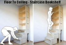 Storage Stuff / Practical ways to make use of minimal space / by Rivka da Cat