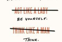 worth quoting (women) / things either for women or about them / by Rivka da Cat