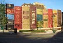 Books - Libraries and Ladders / by Nicole Sgueglia