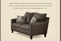 Coaster :: Domestic Upholstery / Furniture designed to fit the need of your home. Made in the USA. / by Coaster Company