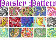 ...paisley... / ...the perfect pattern...warm and colorful to look at and wear...oranges and reds on a black background...hopefully antique...are my favorite. / by donna gravedoni bjork
