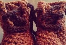 Crochet - Slippers, Socks, Shoes / by Nicole Sgueglia