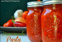 {Recipes In Mason Jars} / all things canned