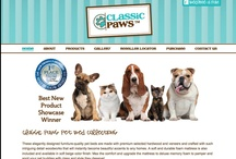 Coaster Pet Beds / Pets need comfort too! A collection of Coaster pet bed designs that help to accessorize any home space and make any pet feel part of the family.  http://classicpaws.com/index.html