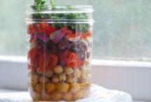 {Salad in a Jar}