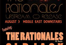 Upcoming Shows / The Rationales Live