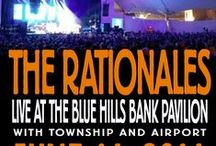 Past Show Posters / Shows the Rationales have played
