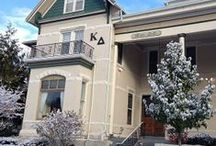 Kappa Delta Chapter Houses / Pictures of Kappa Delta chapter houses from across the country and across the decades!