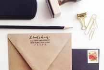 Print Shop / Inspiration for stationery and print shop