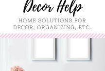 (HOME) Decor & Helps