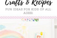 (KIDS) Crafts & Recipes