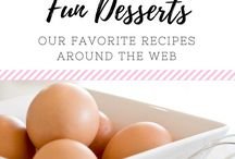 (FOOD) Fun Desserts