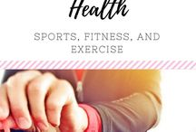 (HEALTH) Sports & Fitness / Ideas for sports and fitness-staying healthy, exercising, and energizing.