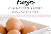 (FOOD) Freezer and Time Saving