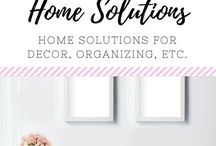 (HOME) Home Solutions / Ideas for keeping the home in order-finances, organization, solutions for kids, clothing, budgets, etc.