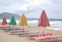 Beautiful  Beach Umbrella's / by Anne Kepple