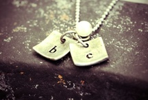 Stamped Metals Jewelry / by GLOSS Jewelry