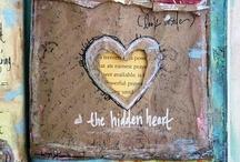 Wild Abandonment / Mixed Media & Art Journaling Inspiration