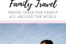 (TRAVEL) Family Ideas / Travel and vacation ideas for the family, including activities for road trips, travel safety, and fun ideas for staycations. Travel, Disney, Vacation, Family, Trip, Road Trip, Travel Ideas, Travel activities