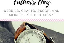 (HOLIDAY) Father's Day Ideas